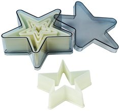 Fat Daddios 5-Piece 5 Point Star Nylon Cutter Set * Awesome product. Click the image at  : Baking Accessories