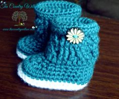 SKILLS NECESSARY:  sc dc fptr bpdc invscdecPATTERN DESCRIPTION:My niece just had her baby and I wanted a cute little boot to make for her with cables. I could not find one I liked so decided to make this pattern. These little boots work up fast and can be made in any color and for any gender.  Infant...sole measures 3.5mm x 2mm, height measures 3mm when finished and turned downMATERIALS:  F Hook 2 colors of Carons Simply Soft 2 optional buttons Tapestry needle