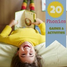 LOVE these 20 Phonics Games & Activities to sneak a little learning in this summer {without the kids even getting suspicious}!
