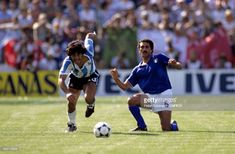The 1982 World Cup saw the introduction on the world stage of Diego Maradona. David Elkin looks at his first World Cup and the Argentine's defining run-in with one Claudio Gentile.World Cups are Fifa, 1982 World Cup, Diego Armando, First World Cup, Nike Football, My World, Soccer, Exercise, Running