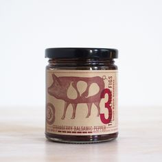 Strawberry Balsamic Pepper Jam
