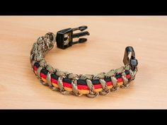 How to Add 3 Colors to the Basic Solomon Paracord Survival Bracelet - Bored?Paracord! - YouTube