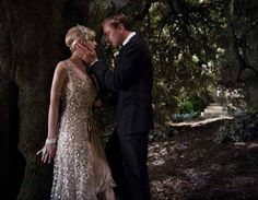 Carrie Mulligan and Leonardo DiCaprio in The Great Gatsby