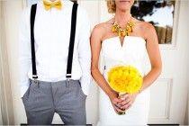 wedding , Sunny Lemon Yellow Hochzeitsdeko