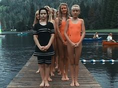 Wednesday Addams in swimsuit