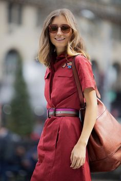 The Sartorialist's Jenny Walton Talks Tomas Maier Winter Fashion Outfits, Spring Outfits, Red Outfits, Star Fashion, Womens Fashion, Minimalist Fashion Women, Cold Weather Outfits, Get Dressed, Persona