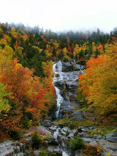 New Hampshire Waterfalls