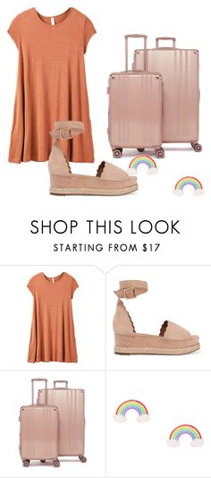 """""""Untitled #100"""" by halissiaelviracra on Polyvore featuring RVCA, Chloé and CalPak"""