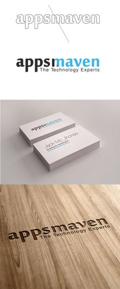 AppsMaven Logo Design by Abhishek Aggarwal  a.k.a AbhiKreationz, via Behance