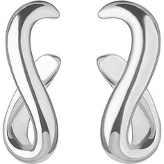 Enjoy the never-changing beauty of Links of London's Essentials Infinite hoop earrings. Simple and elegant, this sterling silver pair is perfect for everyday wear. Infinity Jewelry, Links Of London, Sterling Silver Earrings, Luxury Branding, Women's Earrings, Women Accessories, Essentials, Stuff To Buy, Bracelets