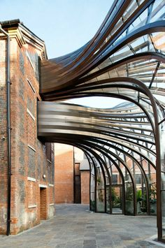 cool Bombay Sapphire Distillery | Heatherwick Studio Check more at http://www.arch2o.com/bombay-sapphire-distillery-heatherwick-studio/