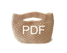 PDF CROCHET PATTERN pattern for Handbag crochet by Iovelycrochet, $7.50