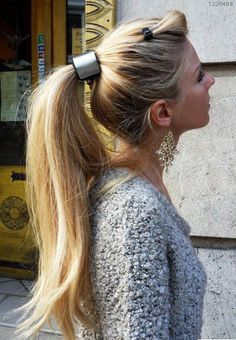 my hair will be this long! just you wait! it will cost a fortune to get dyed though :/