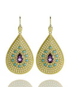 Jeweled Goddess Earrings