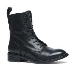 Zwarte biker boots | Dames  - Manfield.com