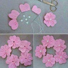 5 Modelos de Flores de Feltro INCRÍVEIS Para Você Fazer Hoje Mesmo!!