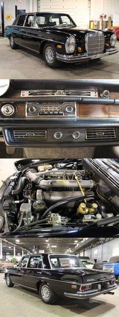 1969 Mercedes Benz 300 SEL 6.3 #mercedesvintagecars #mercedesclassiccars