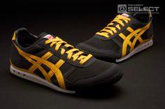 Onitsuka Tiger - Ultimate 81 - Retro Running - Mens Footwear - Black - Yellow