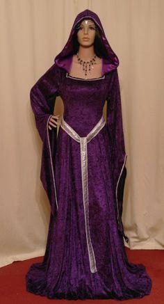 medieval renaissance ELVEN FAIRY dress custom made