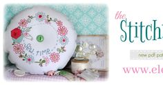 Have you been looking for sweet and unique stitchery designs that can be displayed in a variety of projects?   The Stitch...
