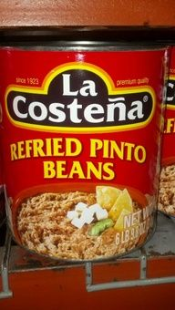 La Costena: Refried Pinto Beans. http://affordablegrocery.com