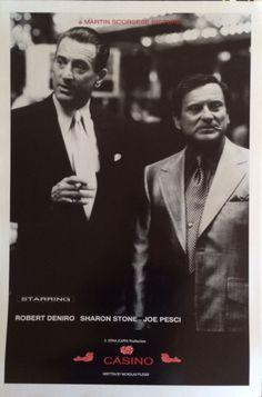 Kasino Robert Deniro Joe Pesci Poster 24 x 36 von PosterAmerica