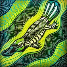 Aboriginal Art Animals, Aboriginal Dot Art, Aboriginal Painting, Aboriginal Culture, Indigenous Australian Art, Indigenous Art, Aboriginal Tattoo, Kunst Der Aborigines, Dot Art Painting
