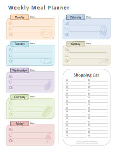 Grocery Shopping List Template Print This Template Out And Save