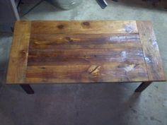 Rustic Reclaimed Barnwood Coffee Table