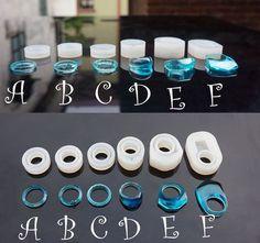 Molde de silicona para resina de silicona del por Bronzemetal