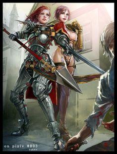 Soul Calibur (Hildegard Von Krone U0026 Isabella Valentine) By Jasmine T