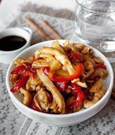 Вкуснятина : курица стир-фай в кисло-сладком соусе | Четыре вкуса