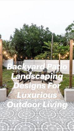 Small Backyard Design, Backyard Patio Designs, Small Backyard Landscaping, Backyard Ideas, Backyard Pools, Patio Ideas, Landscaping Ideas, Diy Patio, Budget Patio