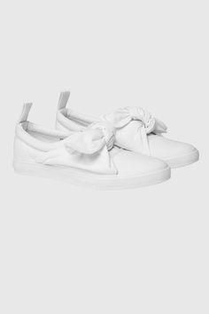 Cheap Monday Image 1 of Trip Knot Sneaker in White