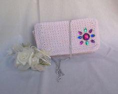 Rosa Sunlight Delicata pochette con tracollina : Borsette di bags-dream-team