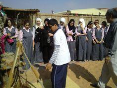 زيارات المدارس للقرية التراثية  زيارة مدرسة الخليل