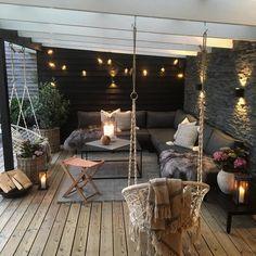Gorgeous Backyard Patio Deck Design and Decor Ideas Inspiring You - Pergola Ideas Backyard Patio Designs, Pergola Patio, Backyard Landscaping, Patio Stone, Patio Privacy, Flagstone Patio, Concrete Patio, Patio Table, Modern Pergola