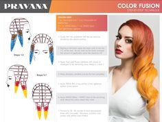 Gold Hair Colors, Hair Dye Colors, Hair Color For Women, Cool Hair Color, Hair Color Placement, Pravana Hair Color, Hair Color Formulas, Colored Hair Tips, Hair Color Techniques