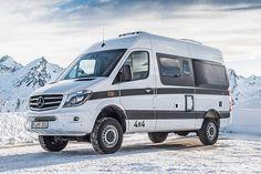 Hymer Grand Canyon S - Sprinter Campervan - Tokyo Camping Car Show Mercedes Sprinter 4x4, Mercedes 4x4, Sprinter Camper, Benz Sprinter, Grand Canyon, Customised Vans, Hymer, Class B Rv, Van Car