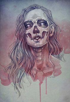 Beautiful Portrait Illustrations by Sasha Alekseeva