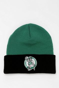 bf8be606377 Mitchell   Ness NBA Beanie - Urban Outfitters Sports Teams
