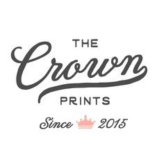 Browse unique items from TheCrownPrints on Etsy, a global marketplace of handmade, vintage and creative goods.