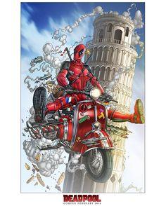 """#DeadpoolCore proves insanity has no borders. #Deadpool"""