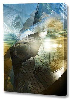 'Atlantis' by Scott J. Menaul Graphic Art on Wrapped Canvas