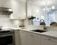 kitchen layout, white kitchen
