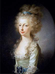 Archduchess Maria Clementina of Austria, 1796, Duchess of Calabria.jpg