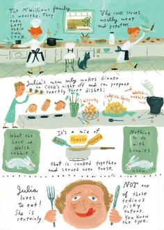 How Beloved Chef and Entrepreneur Julia Child Conquered the World: An Illustrated Life Story – Brain Pickings