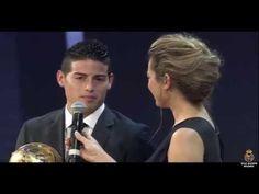 James Rodriguez   Globe Soccer Dubai 2014   Jugador Revelación   29/12/2014 HD