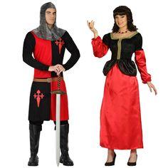 Costumes pour couples Princes Moyen âge #déguisementscouples