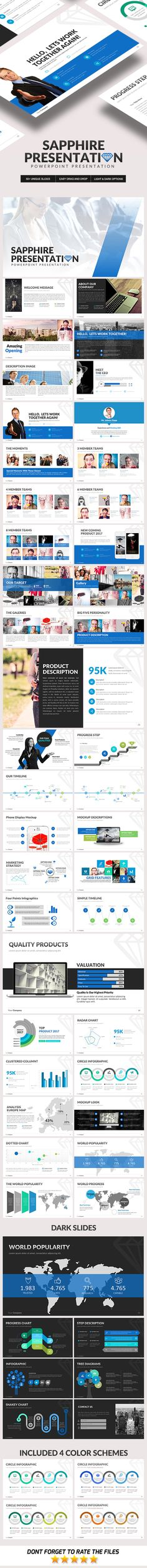 Sapphire Powerpoint Template - Business #PowerPoint #Templates Download here:  https://graphicriver.net/item/sapphire-powerpoint-template/19449829?ref=alena994